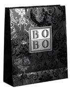 euro tote paper bags with uv