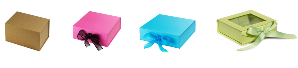 collapsible rigid gift boxes