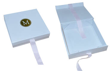 collapsible rigid boxes with hot stamping logo
