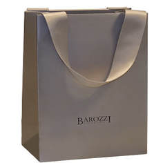 ribbon handle luxury paper bags